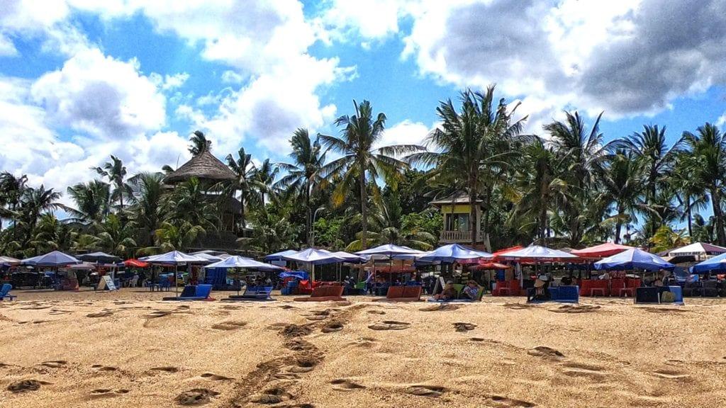 Beach in South Bali