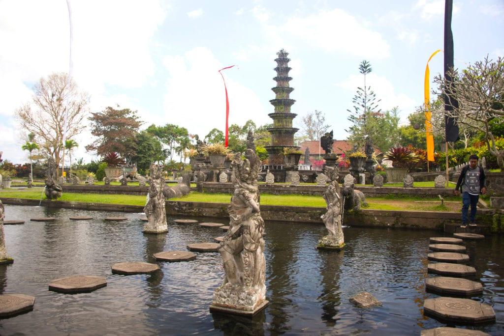 Tirta Gangga Pond